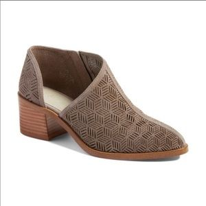 1. State Iddah Perforated cutaway booties 8.5